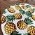 Sousplat Jacquard abacaxi branco - Imagem 3