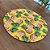 Sousplat Jacquard abacaxi amarelo - Imagem 2