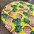 Sousplat Jacquard abacaxi amarelo - Imagem 3