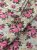 Tecido Gorgurinho Floral Vintage Bege Rosa - Imagem 1