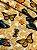 Tecido Gorgurinho Borboletas Bege - Imagem 2