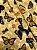 Tecido Gorgurinho Borboletas Bege - Imagem 1