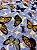Tecido Gorgurinho Borboletas Azul - Imagem 2