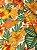 Tecido Gorgurinho Floral Laranja - Imagem 2