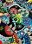 Tecido Jacquard abstrato azul - Imagem 1