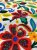 Tecido Jacquard floral amarelo - Imagem 3