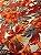 Tecido Gorgurinho floral salmão - Imagem 2