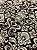 Tecido Jacquard medalhão bege e marrom - Dupla-face - Imagem 3