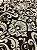 Tecido Jacquard medalhão bege e marrom - Dupla-face - Imagem 5