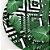 Sousplat Jacquard folhas geométrico verde - Imagem 2
