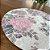 Sousplat Jacquard floral rosa - Imagem 3