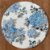 Sousplat Jacquard floral azul - Imagem 1