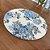 Sousplat Jacquard floral azul - Imagem 2