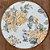 Sousplat Jacquard floral amarelo - Imagem 1
