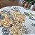 Sousplat Jacquard floral amarelo - Imagem 3