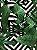 Jogo americano Jacquard folhas geométrico - Imagem 2