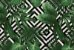 Jogo americano Jacquard folhas geométrico - Imagem 1