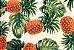 Jogo americano Jacquard abacaxi - Imagem 1
