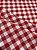 Tecido Gorgurinho Xadrez Vermelho Branco - Imagem 2