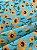Tecido Tricoline girassol tiffany - Imagem 3