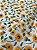 Tecido Tricoline girassol branco - Imagem 3