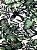 Tecido Jacquard Costela De Adão folhas verde - Imagem 1