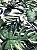 Tecido Jacquard Costela De Adão folhas verde - Imagem 2