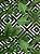 Tecido Jacquard folhas verde geométrico - Imagem 1