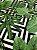 Tecido Jacquard folhas verde geométrico - Imagem 3
