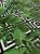Tecido Jacquard folhas verde geométrico - Imagem 2
