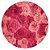 Sousplat Jacquard flores rosas - Imagem 1