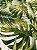 Tecido Jacquard Costela De Adão folhas verde musgo - Imagem 3