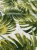 Tecido Jacquard Costela De Adão folhas verde musgo - Imagem 2