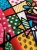 Tecido Jacquard abstrato colorido - Imagem 2