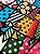 Tecido Jacquard abstrato colorido - Imagem 1