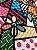 Tecido Jacquard abstrato colorido - Imagem 3