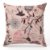 Capa de almofada Jacquard pássaro rosa - Imagem 1