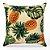 Capa de almofada Jacquard abacaxi Costela De Adão - Imagem 1