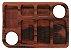 Petisqueira retangular com paliteiro 6 divisórias - Imagem 1