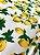Tecido Jacquard limão siciliano branco - Imagem 4