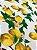 Tecido Jacquard limão siciliano branco - Imagem 2