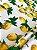 Tecido Jacquard limão siciliano branco - Imagem 3
