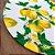 Sousplat Jacqurad limão siciliano branco amarelo - Imagem 3