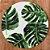 Sousplat Jacquard Costela De Adão verde - Imagem 1