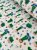 Tecido Tricoline cactos verde branco - Imagem 2