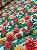 Tecido Tricoline floral tiffany - Imagem 1