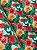 Tecido Tricoline floral tiffany - Imagem 3