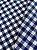 Tecido Gorgurinho Xadrez Azul Branco - Imagem 1