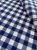 Tecido Gorgurinho Xadrez Azul Branco - Imagem 2