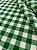 Tecido Gorgurinho Xadrez Verde Branco - Imagem 2